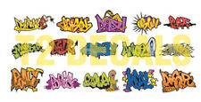 HO Scale Custom Graffiti Decals #1 - Great for Weathering Box Cars!