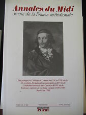 ANNALES DU MIDI 1993 No 202 ABBAYE CISTERCIENNE GIMONT METHODE MAGGIOLO CATALAN