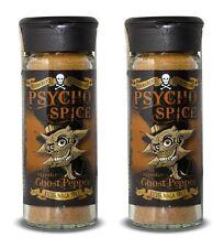 Dr Burnorium Set Of 2 Psycho Spice 45g Jar Chipotle Ghost Chilli Pepper Spices