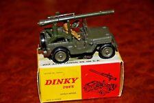 Vintage Dinky Toys / MIB / WW II Jeep / Liberation de Paris / No. 829