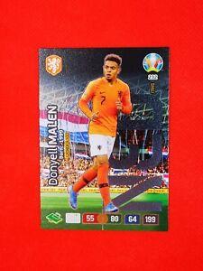 Carte card Panini ADRENALYN XL UEFA Euro 2020 n°232 PAYS-BAS DONYELL MALEN