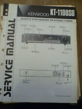Kenwood KT-1100SD L Stereo Tuner Service Manual