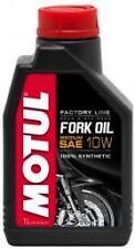 OLIO MOTUL FORK OIL FACTORY LINE  SAE 10W 100% SINTETICO 1 LITRO