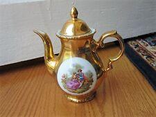 Gold Love Story Tea Pot