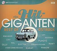 DIE HIT GIGANTEN BEST OF OSTROCK - CITY/PUHDYS/SILLY/KARAT/ELECTRA/+ 3 CD NEU