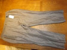 Marks and Spencer Tapered High Rise 28L Trousers for Women