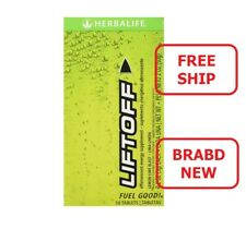 Herbalife Liftoff Lemon Lime Drink Tablet- 10 Count - 2.2 oz - Free Shipping !!!