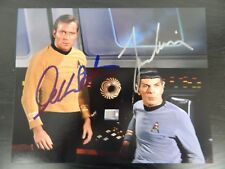 """""""Star Trek"""" Hand Signed 8X10 By William Shatner and Leonard Nimoy W/ Todd Muelle"""