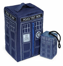 Doctor Who Tardis Soap on a Rope & Wash Bag Zippered Toiletry BBC Police Box Dr.
