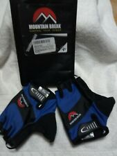 Cycling Bike Road Racing Bicycle Gloves By Mountain Break XL Blue