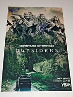 THE OUTSIDERS CAST SIGNED X2 AUTOGRAPHED 12X18 PHOTO POSTER RYAN HURST JACKSON