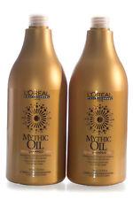2x LOREAL Mythic Oil Shampoo 750ml each