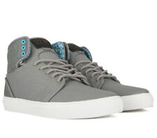 VANS Alomar (Geo) Grey/White Men's Skate High Top Shoes MEN'S 7