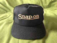 NWOT RETRO PREWAR BLACK SNAP ON MESH BASEBALL CAP HAT 1939 LOGO SNAPBACK TRUCKER