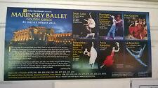 Royal Opera House. Mariinsky Ballet Flyer. 2011.