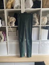 Baukjen Liv Leather Legging Uk 6 Worn Once - Green