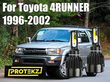 LED 4RUNNER 1996-2002 Headlight Kit H4/9003 6000K White CREE Bulbs Hi/Low Beam