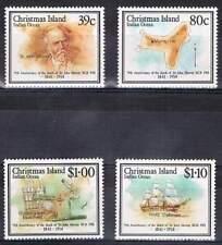 Christmas Island postfris 1989 MNH 274-277 - Sir John Murray