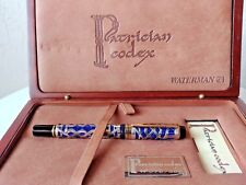 Waterman Man 100 Patrician Codex Blue - Limited edition to 300 Fountain Pen