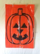 Halloween Pumpkin Leaf Bags 3 Bags Indoor/Outdoor Decoration Pumpkin Face