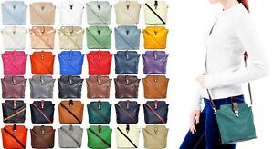 Handbag Bliss Soft Italian Leather Cross Body Bag Shoulder Bag Adjustable Strap