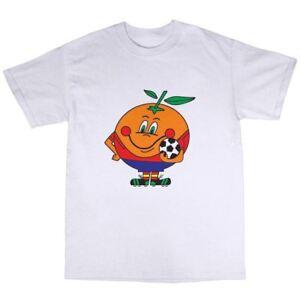 Spain 82 T-Shirt 100% Cotton World Cup Football Fan FIFA Goal 1982