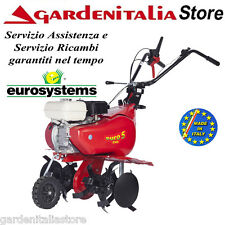 Motozappa EUROSYSTEMS-mod. EURO 5 EVO- motore benzina HONDA GX 160 - zappatrice