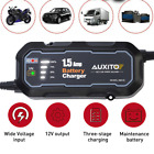 12V Auto Car Battery Charger Tender Trickle Maintainer Boat Motorcycle Portable