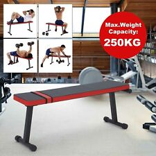 Folding Flat Weight Lifting Bench For Home Gym Training Dumbbell/Weights Press