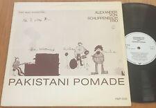Alexander Von Schlippenbach Pakistani Pomade '73 Free Jazz Germany LP FMP 0110