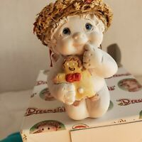 "Dreamsicles "" Sweet Stuff""  Cherub Angel With Gingerbread Cookie Figurine"