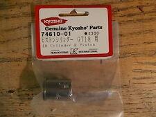 74610-01 18 Cylinder & Piston - Kyosho GT18 Marine Nitro Engine