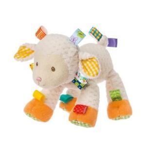 "Mary Meyer Taggies Sherbet Lamb 12"" Plush Stuffed Animal Baby Toy"