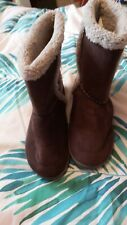 Ladies boot slippers size 7