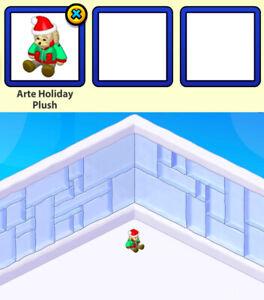 2008 Webkinz Classic CHRISTMAS DAY Virtual Plushy Toy Gift: Arte Holiday Plush