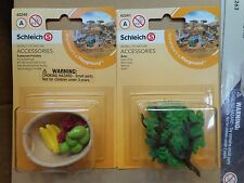 Fruit Feed Set & Branches by Schleich/ 42240/42241/ New In Pkg/ horse accessory