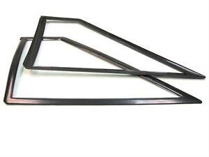 Fairchild Industries KF4005 Quarter Window Molding, Black, Plastic, Ford, Pair