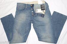 MEXX Herren Straight Leg Jeans H5BSM029,Blau (Light Denim 455) W30-31/ L32 .NEU.