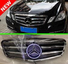 Mercedes Benz 2010 - 2013 W212 E-Class E200 E300 Chrome Grille + LED emblem