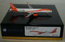 Panda Models BOX18029 Airbus A321-251NX Easyjet A321neo G-UZMA in 1:400 scale