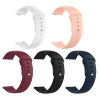 20mm Silicone Wrist Strap Watch Band Belt for Samsung Galaxy Watch 42mm SM-R815