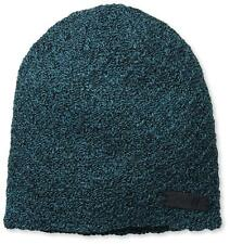 NEFF Grams Turquoise with Black Knit Texturized Beanie One Size