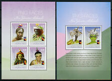 Papua New Guinea 2018 MNH PNG Faces Pt II 2v S/S + 4v M/S Cultures Stamps