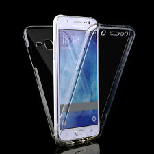 Front & Back Clear 360° Full protection Gel Cover Skin Case For Samsung A5 2017