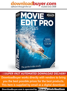 MAGIX Movie Edit Pro 2016 Plus - [Download]