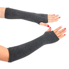 2Pair Women Warmer Mitten Long Knitted Wrist Arm Hand warmer Fingerless Gloves A