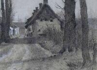 Louis Debras (1820-1899) Landscape Impressionism Set Lavarenne Péronne Nadar