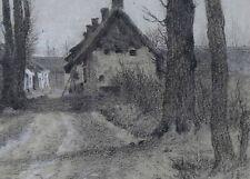 Louis DEBRAS (1820-1899) Paysage impressionnisme situé Lavarenne Péronne Nadar