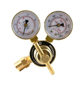 Industrial Argon Regulator/Flowmeter Gauges for MIG and TIG Welders - SÜA