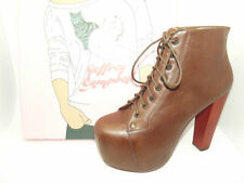 """Jeffrey Campbell Women's Very High Heel (greater than 4.5"""") Lace Up Boots"""